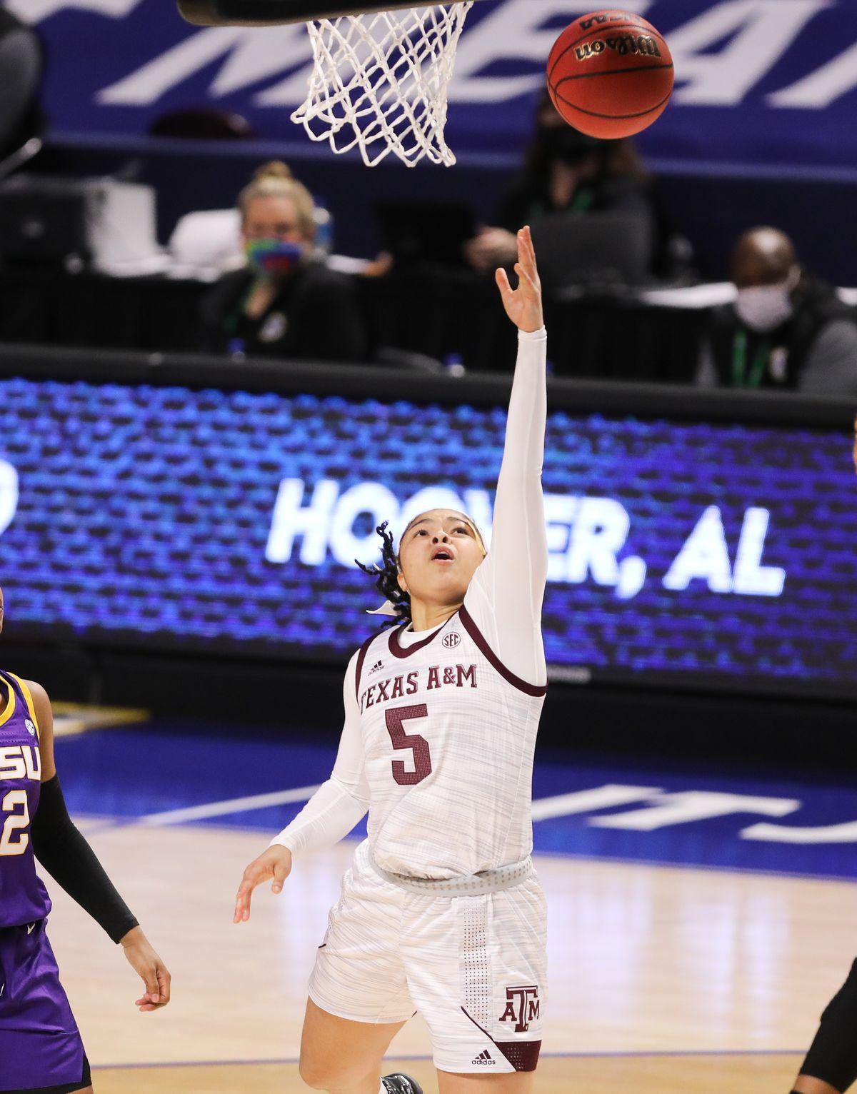 NCAA Womens Basketball: SEC Conference Tournament-Texas A&M vs Louisiana State
