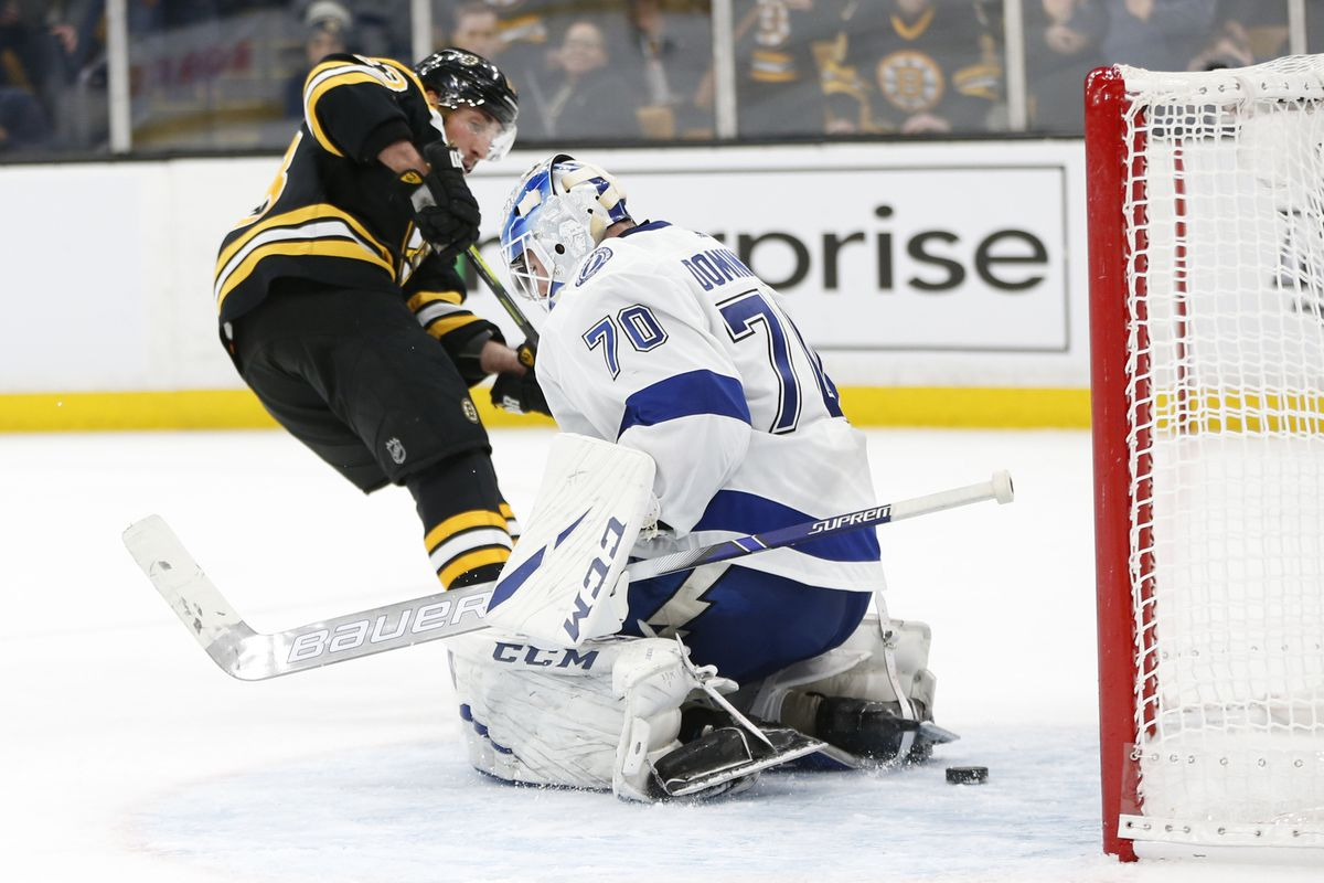 Projected Lines: Lightning at Bruins