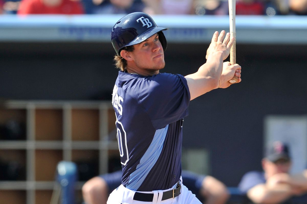 Wil Myers was one of two top Rays prospects to homer Thursday