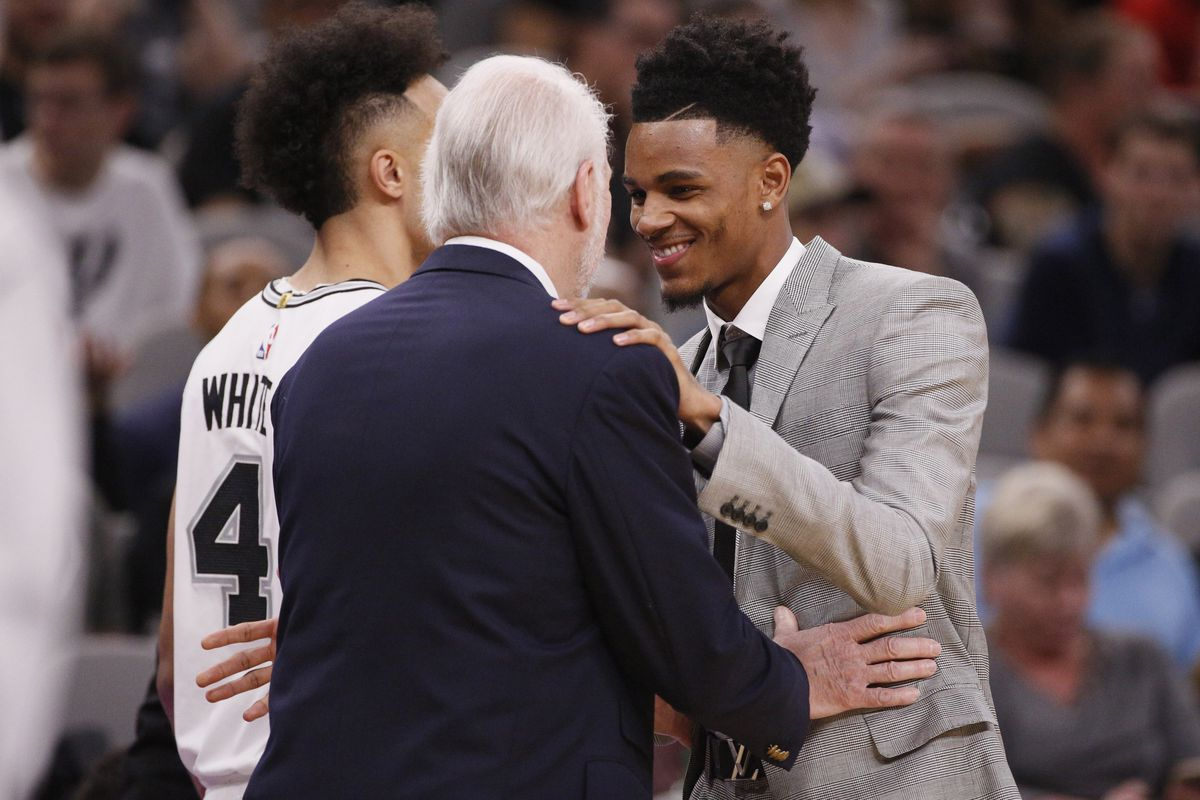 As the Spurs youth movement takes shape, the first of many decisions looms