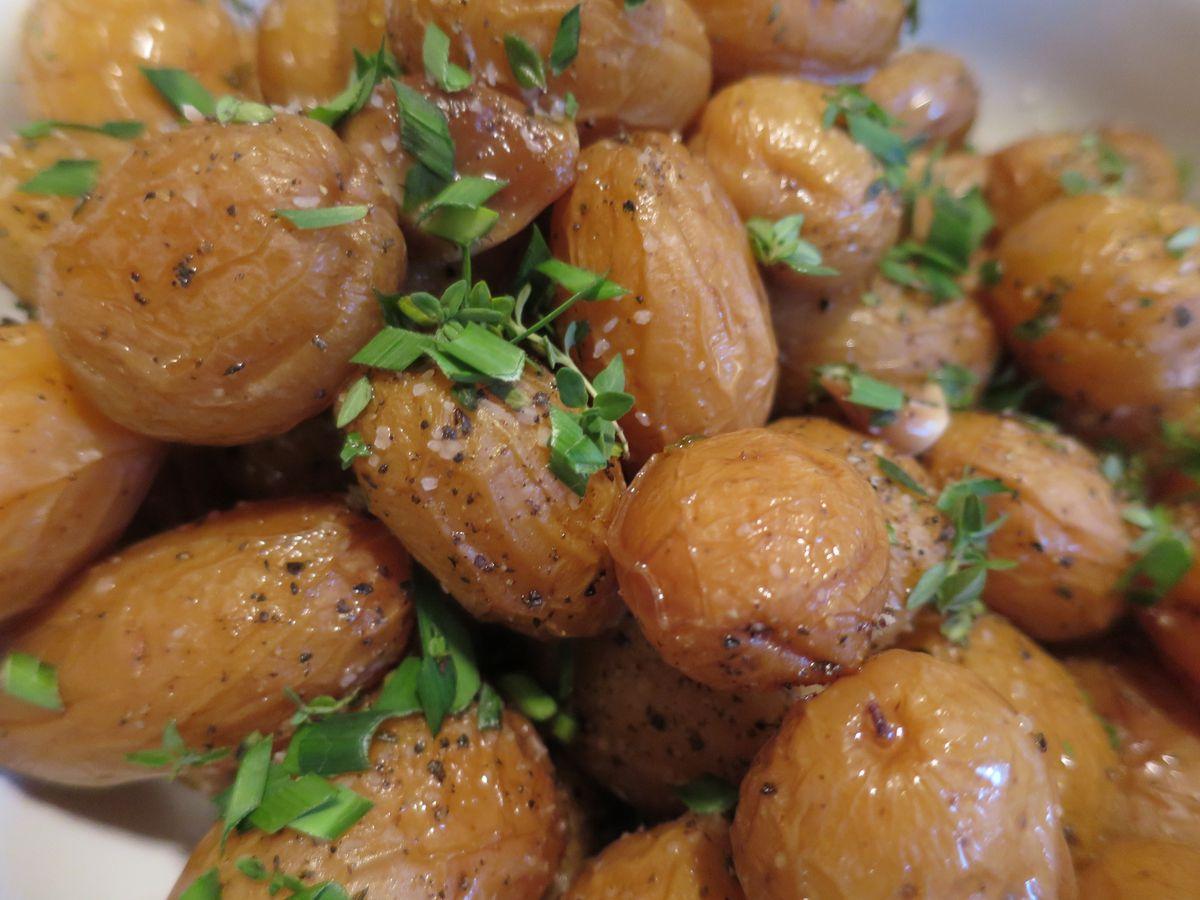 Sean Brock Confit Potatoes