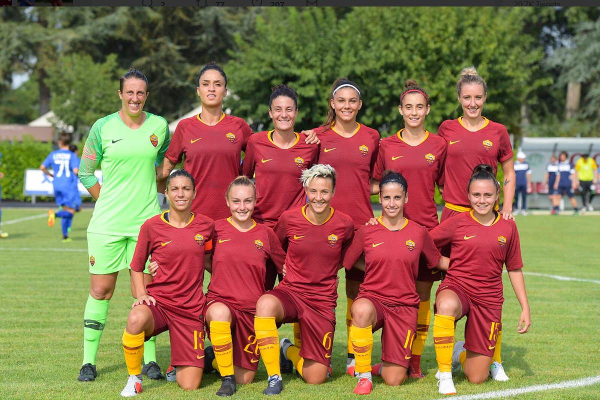 Roma Women Lose Inaugural Match To Sassuolo 3 2 Chiesa Di Totti