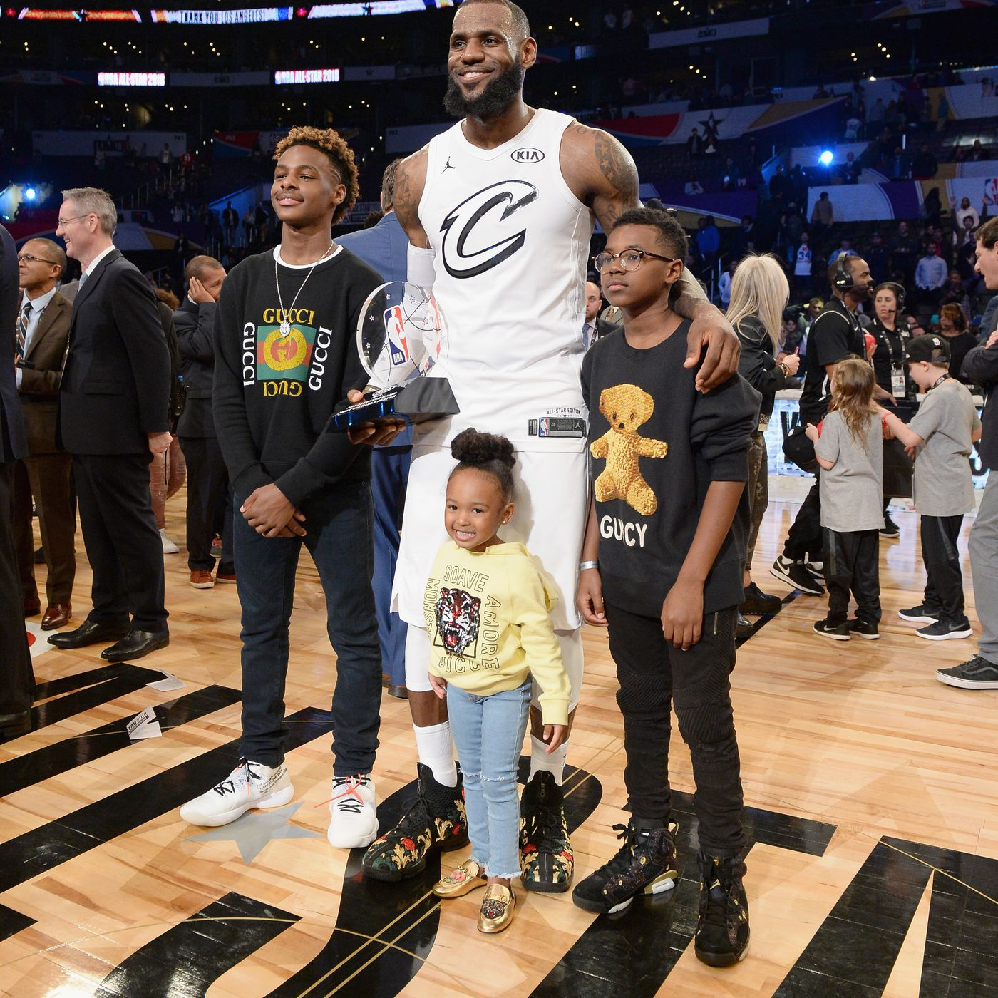 f3d5b934980 NBA Free Agency Rumors  Gary Payton says LeBron James  son has committed to  a Los Angeles high school - Silver Screen and Roll