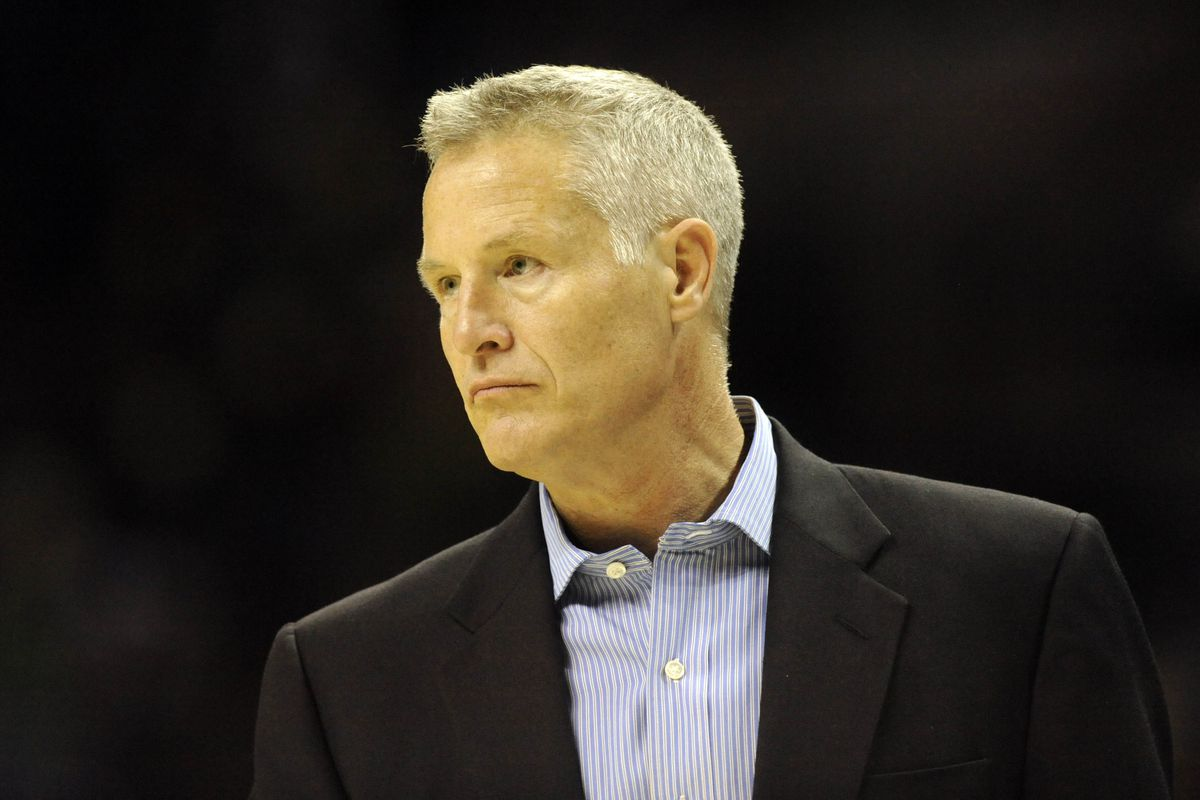 Brett Brown knows that his rookie season on the bench will be a struggle.
