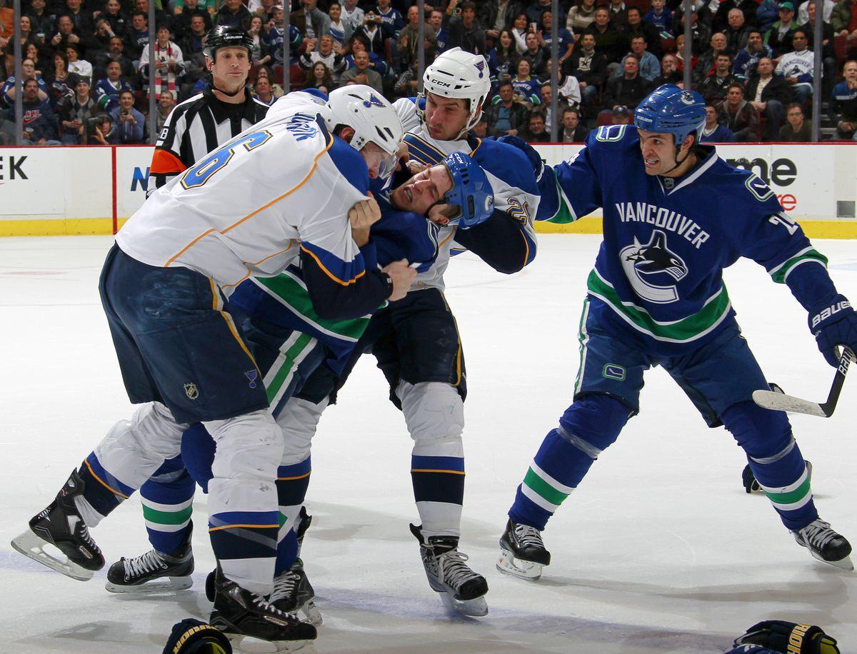 St. Louis Blues v Vancouver Canucks