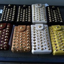 These sweet studded iPhone cases are an easy $50.