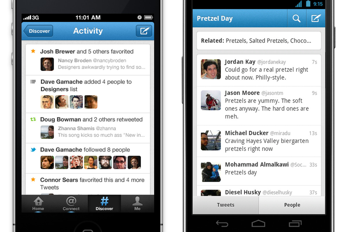 Twitter updates iOS and Android apps with improved search, new