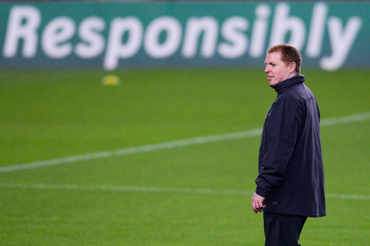 Celtic Training Session & Press Conference