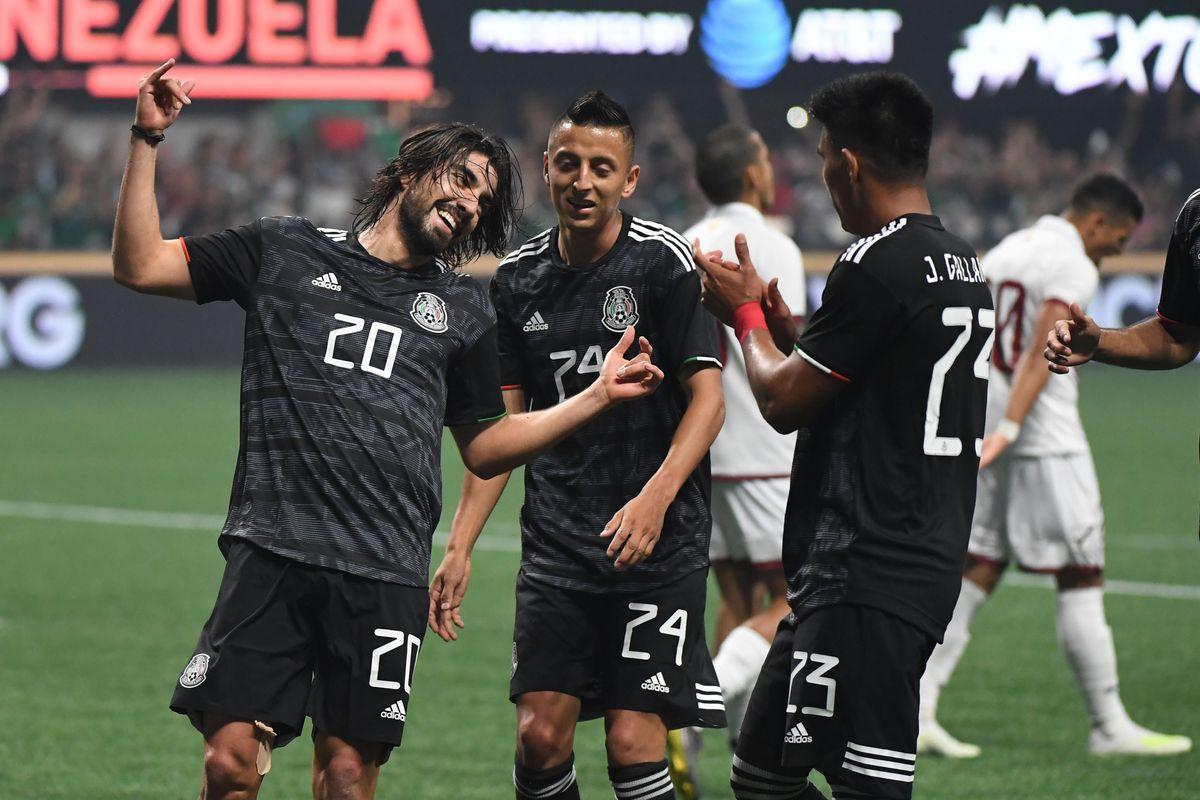 Soccer: Venezuela at Mexico