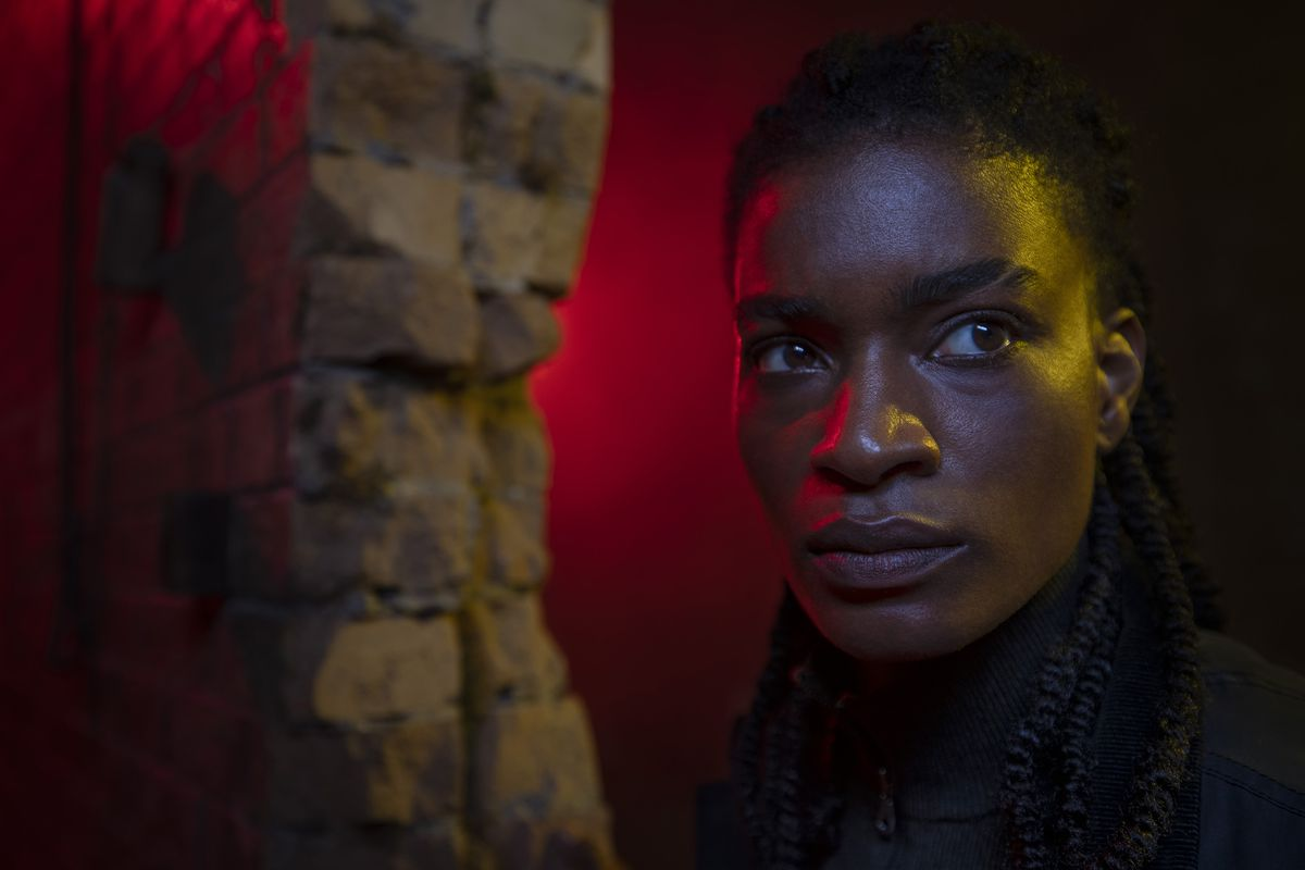 Ashley Romans as Agent 355 in Y: The Last Man