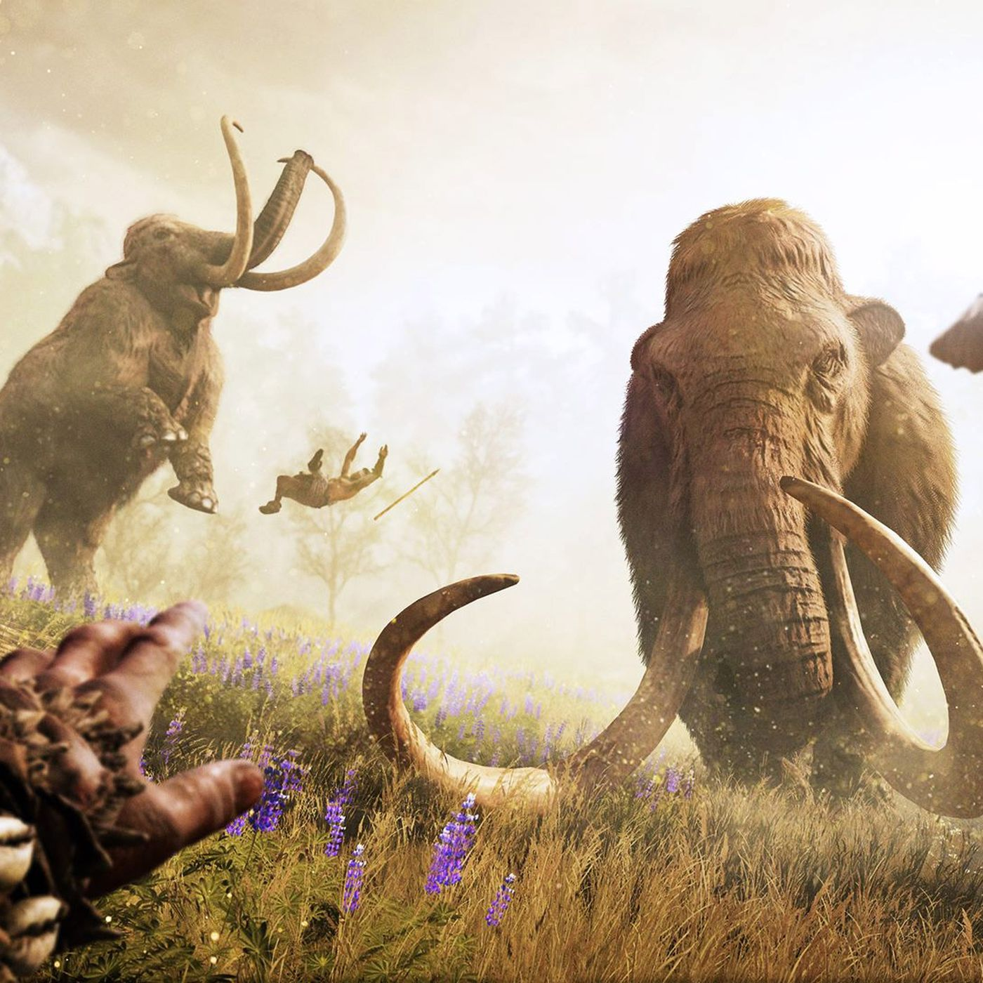 Far Cry Primal S Deadliest Weapons Are The Predators You Can Tame Polygon