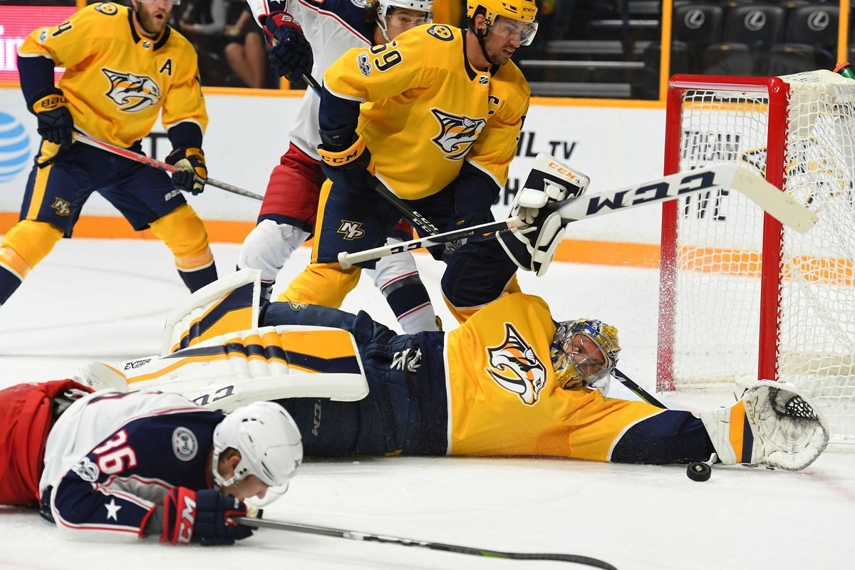 Nashville Predators 3, Columbus Blue Jackets 4 (SO): Preseason On ...