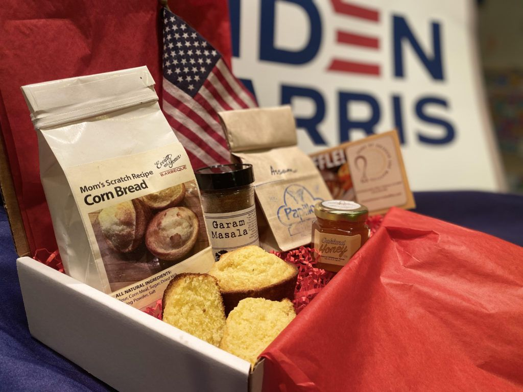 Inauguration breakfast box from Local Food Adventures
