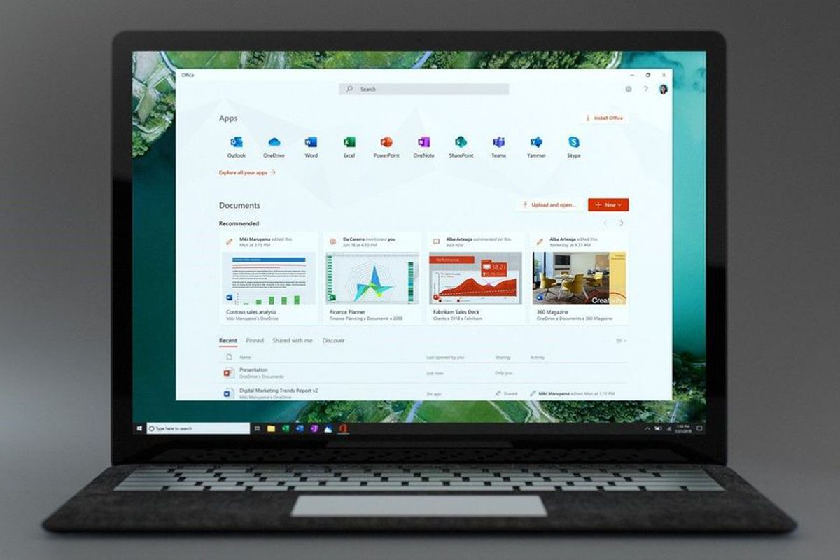 Microsoft launches new Office app for Windows 10 - The Verge