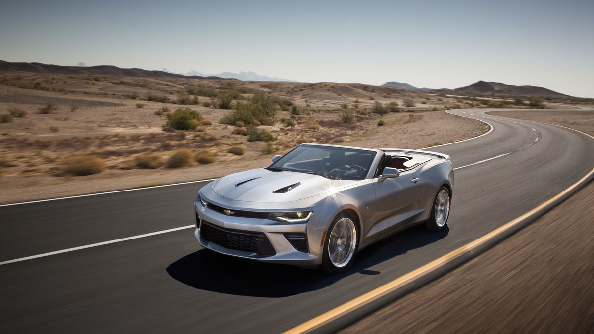 Here S The Drop Top Version Of 2016 Chevy Camaro