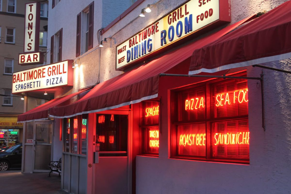 Tony's Baltimore Grill was a beacon in the storm.