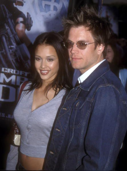 Jessica Alba and Michael Weatherly
