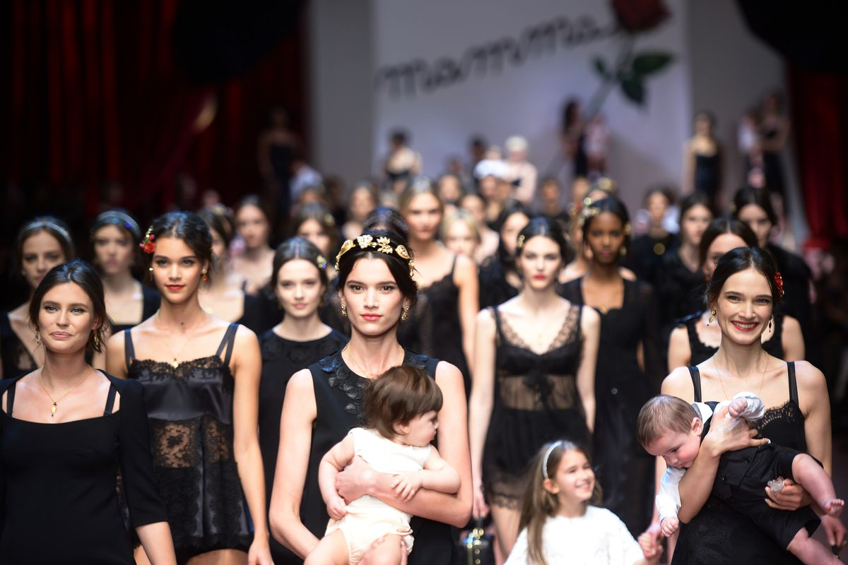 Dolce & Gabbana's fall 2015 show. Photo: Filippo Monteforte