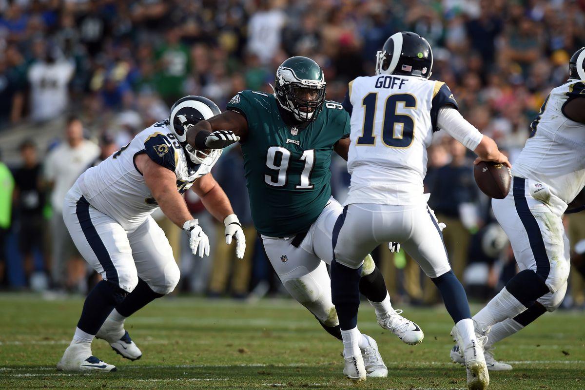 NFL: DEC 10 Eagles at Rams
