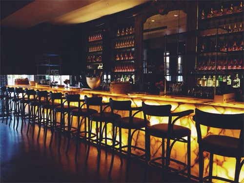 Favorite Bistro Aix Has Remodeled Their Large Bar Area Into Le Complete With A New Look Small Plate Items Specialty Tails And Live Music