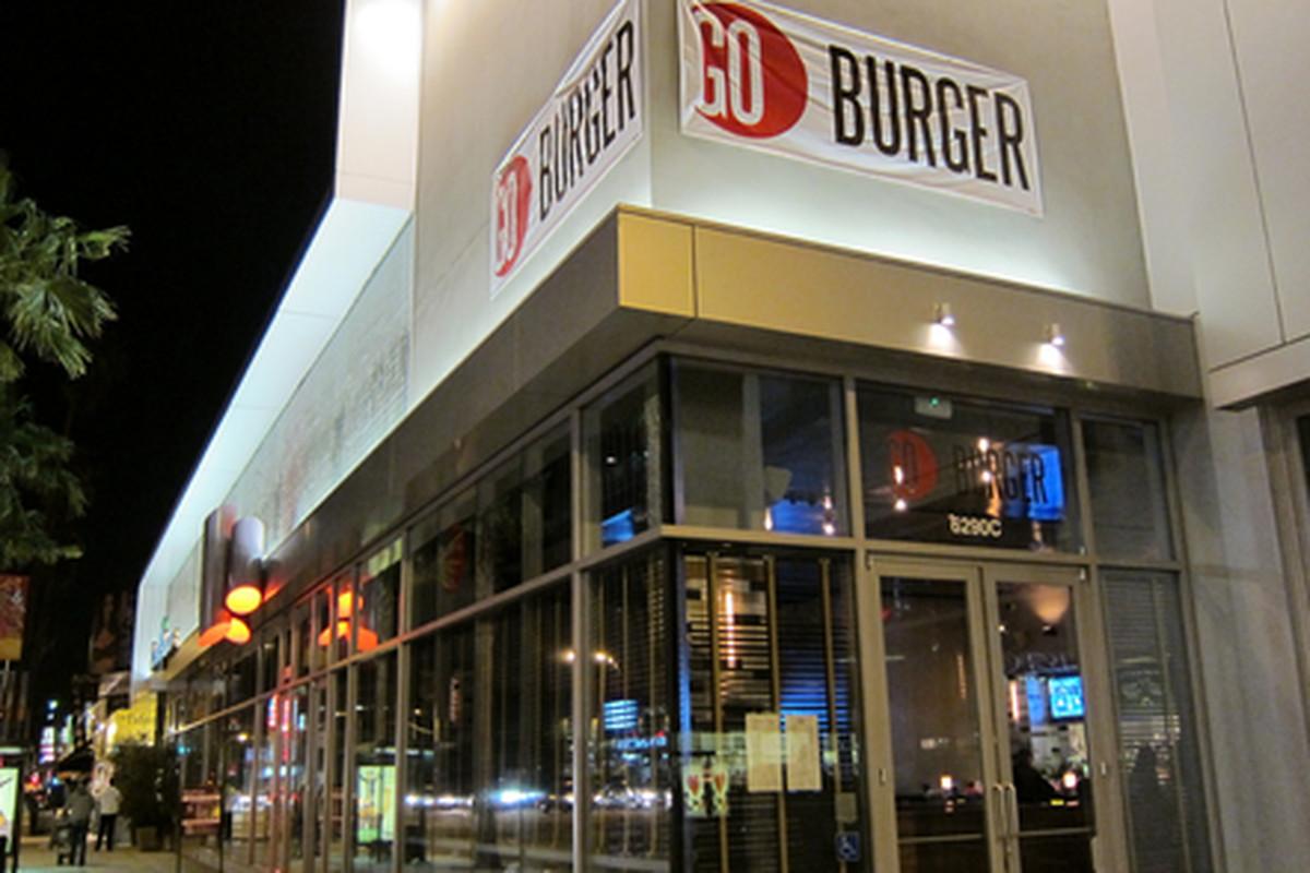 GO Burger, Hollywood.