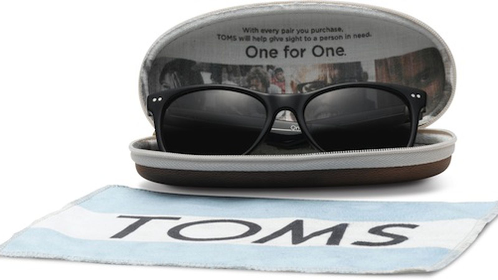 "Toms Shoes Expands Into Eyewear With ""One for One ..."