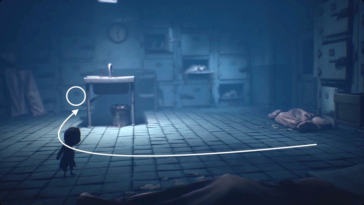Little Nightmares 2 bandages hat location