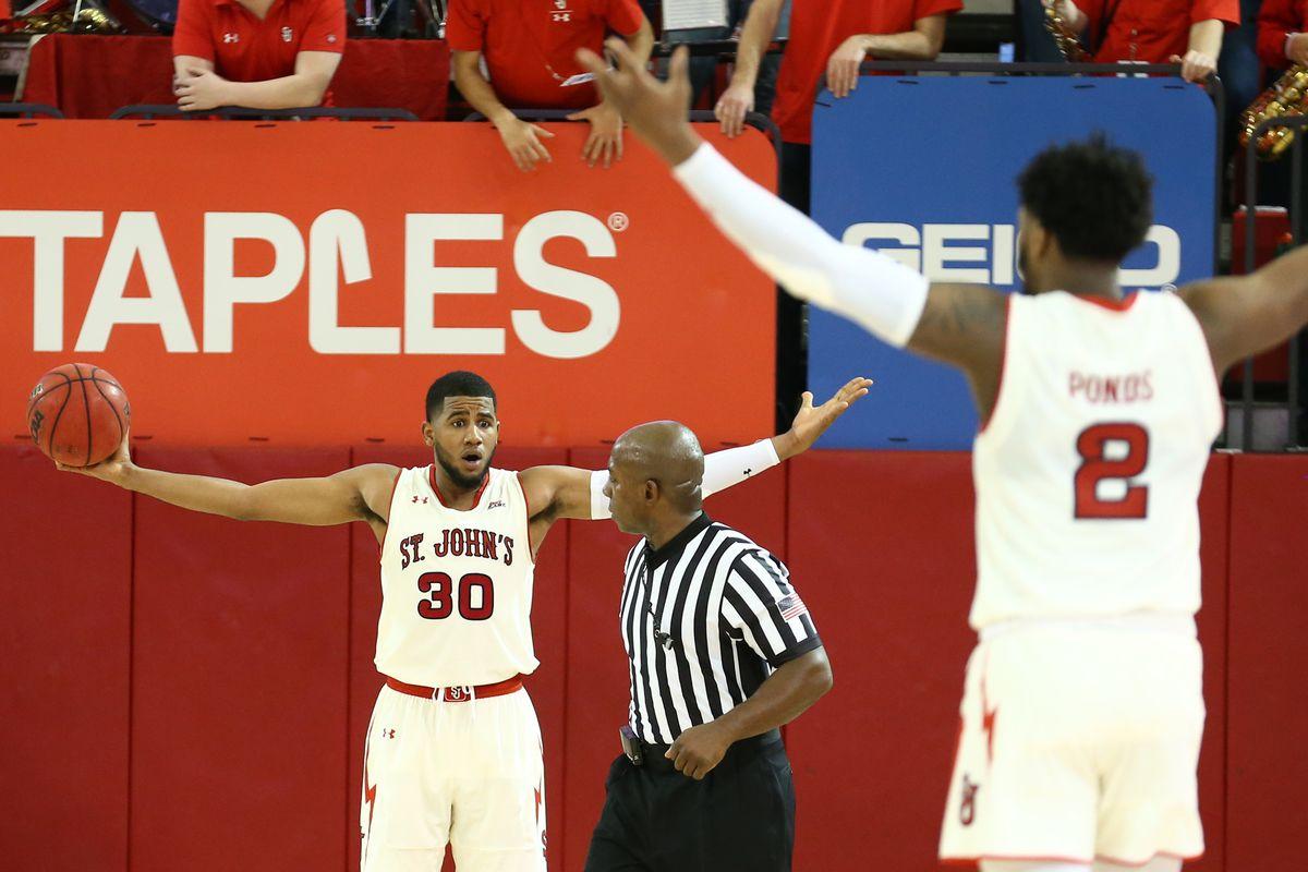 NCAA Basketball: Loyola-Maryland at St. John
