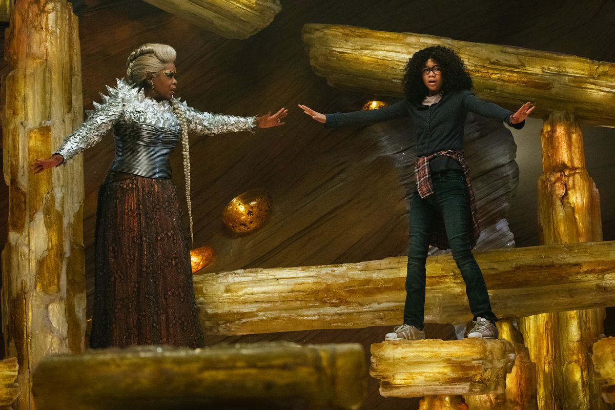 Oprah and Storm Reid in 'A Wrinkle in Time'