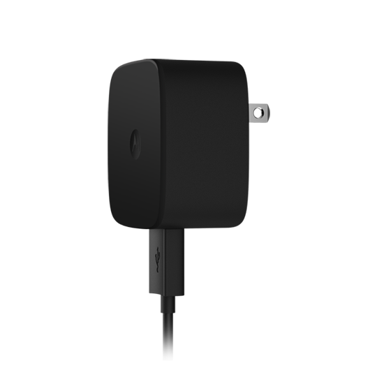 The Moto Turbo Charger gives devices six or eight hours of battery life with a 15-minute charge.
