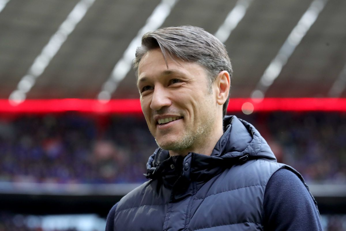Bayern Muenchen v 1. FC Heidenheim - DFB Cup MUNICH, GERMANY - APRIL 03: Niko Kovac, head coach of Muenchen looks on prior to the DFB Cup match between FC Bayern Muenchen and 1. FC Heidenheim at Allianz Arena on April 03, 2019 in Munich, Germany.