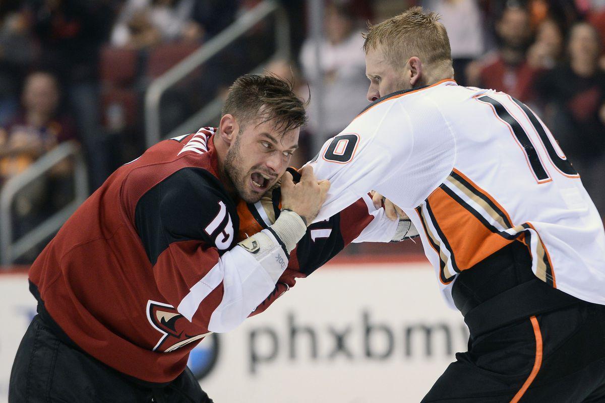 NHL: Anaheim Ducks at Arizona Coyotes