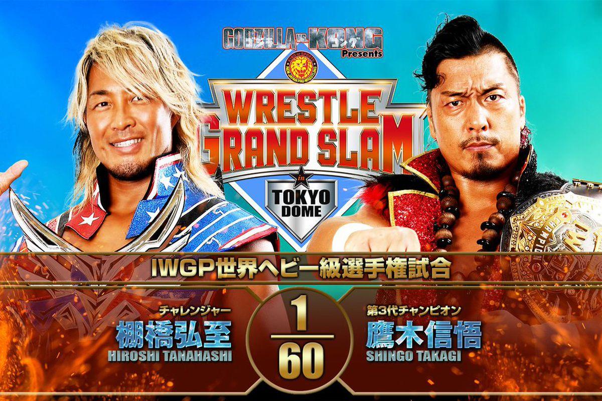 NJPW Wrestle Grand Slam Results