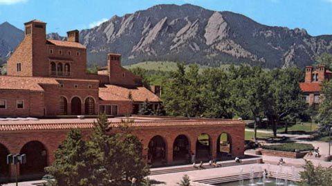 Campus of University of Colorado at Boulder