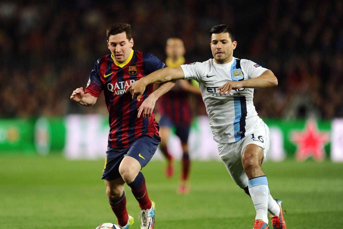 Soccer - UEFA Champions League - Round of 16 - Second Leg - Barcelona v Manchester City - Nou Camp