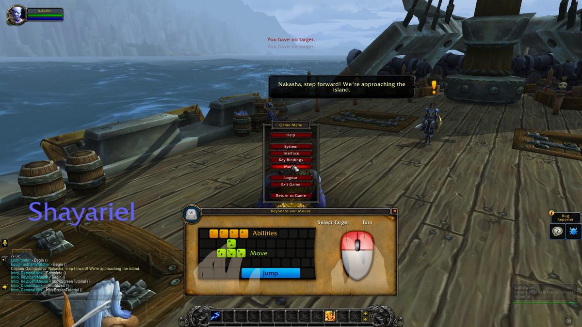 Exile's Reach world of warcraft alpha