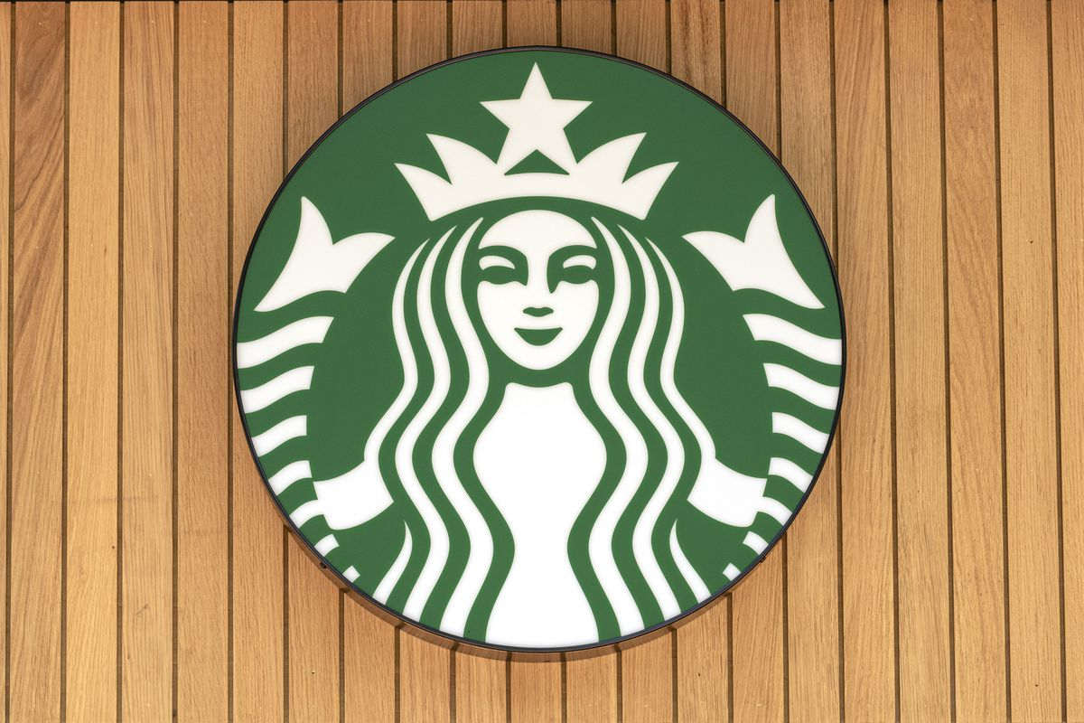 Starbucks logo seen on one of their branches...