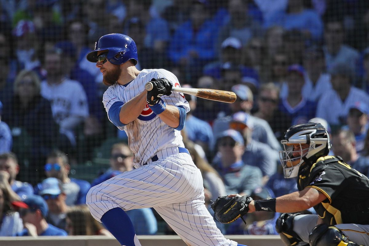 Ben Zobrist hasn't played for the Cubs since May 7. He has been on the restricted list since.