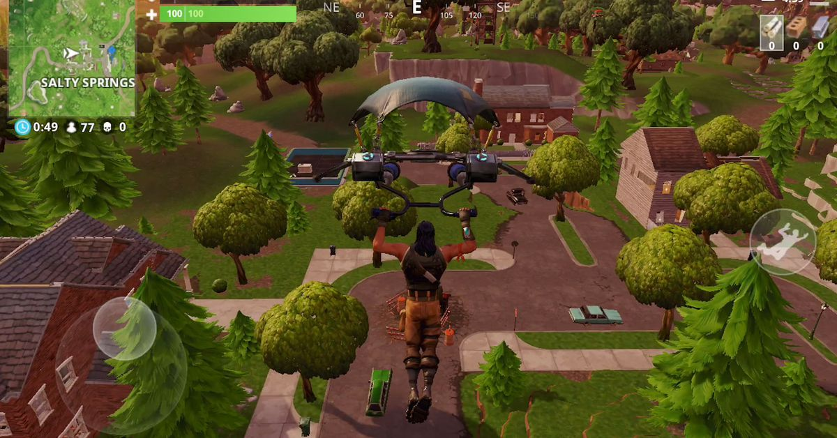 Fortnite on iOS runs like a dream