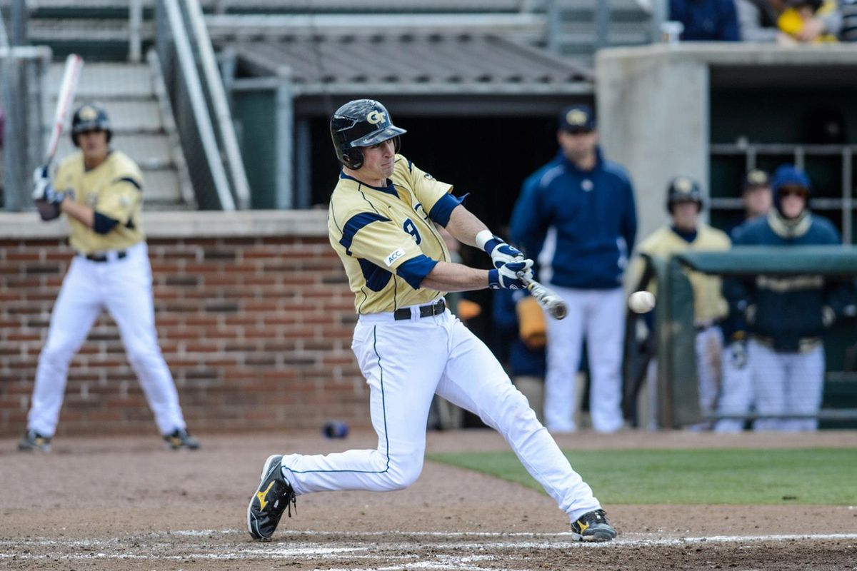AJ Murray led the way offensively for the Jackets Wednesday night with a first inning grand slam.