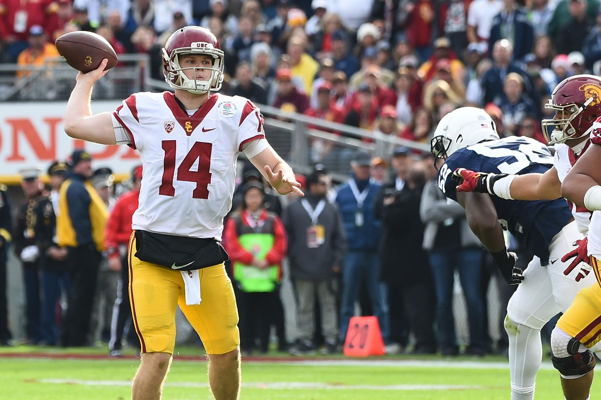 2017 Usc Football >> We Don T Have To Proclaim That Usc Football Is Back The Trojans