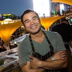 Paul Qui of Uchi in Austin, Texas.