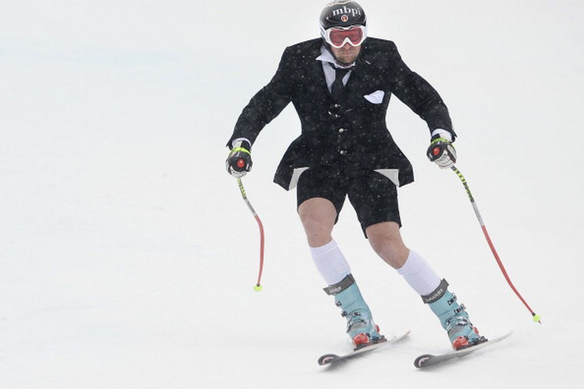 The lengths some people will go to defend a shorts suit