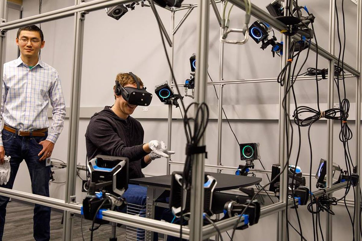 Mark Zuckerberg Oculus Gloves