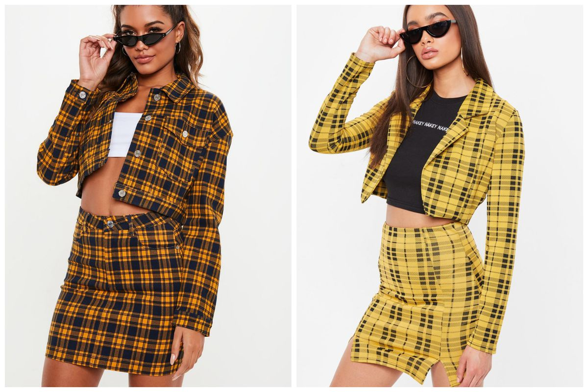 547dde0771 Cher's Yellow Plaid Outfit From Clueless Is Now at Forever 21, Urban ...