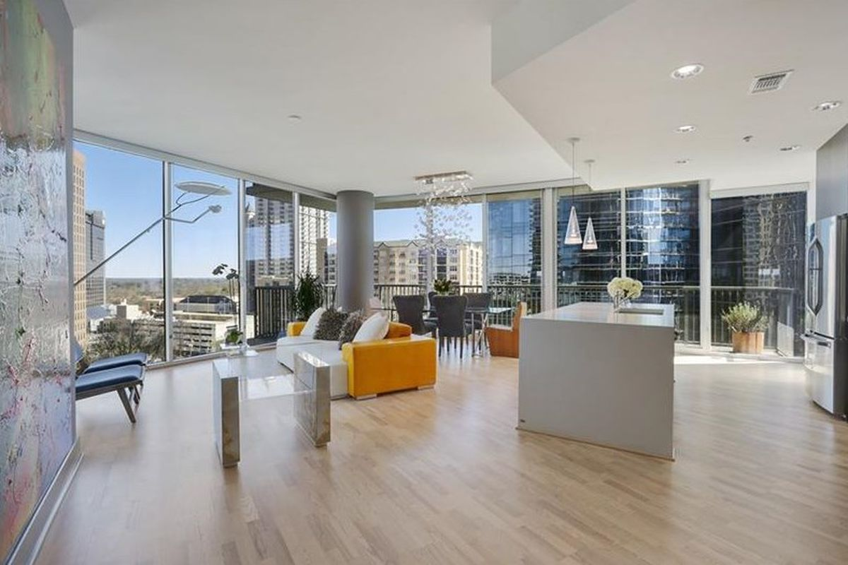 Photo of a Midtown Atlanta condo for sale right now.
