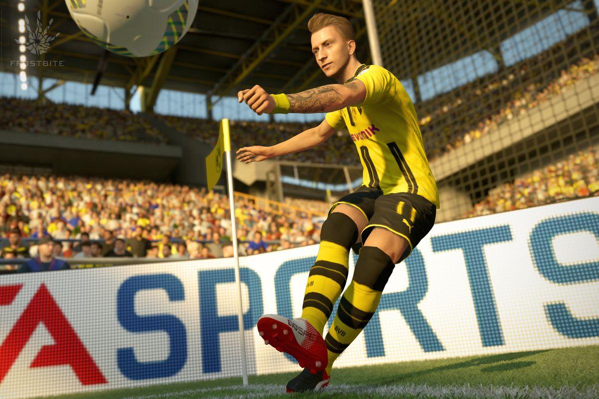FIFA 17 - corner kick