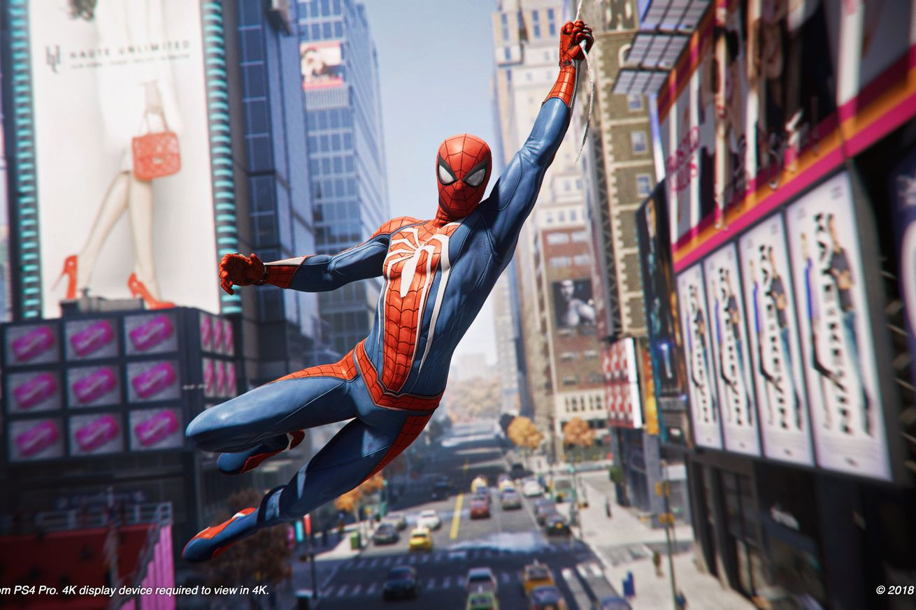 spider man on ps4 nails the most important thing web swinging