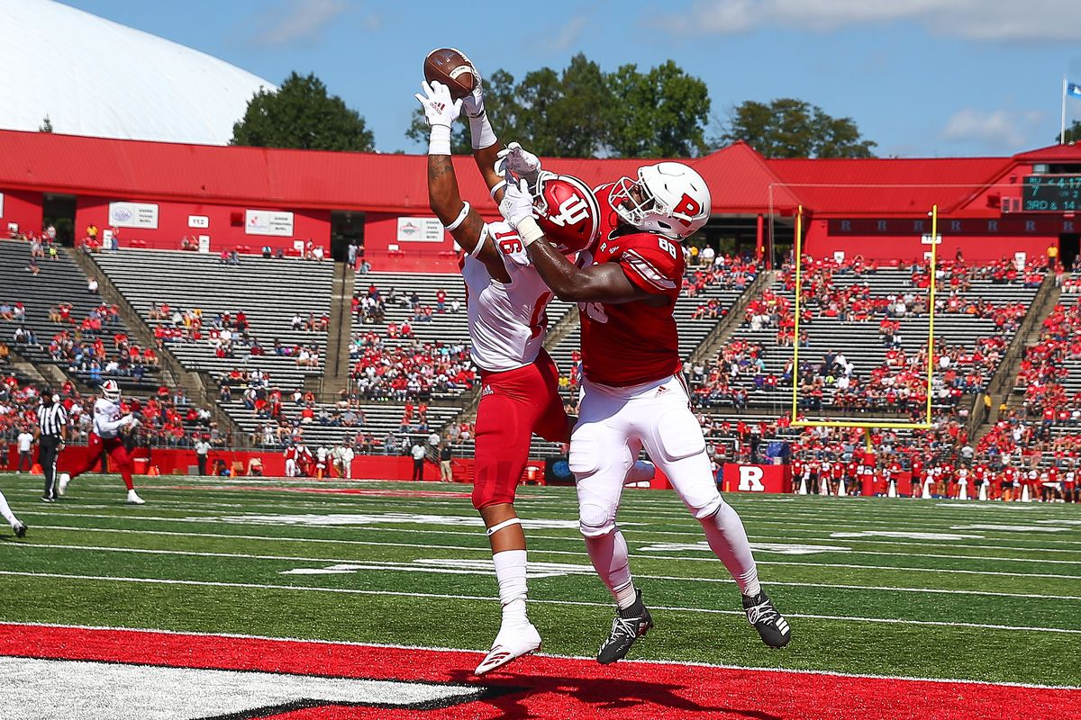 COLLEGE FOOTBALL: SEP 29 Indiana at Rutgers