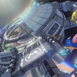The insane, physics-defying new tracks of 'Mario Kart 8' - The Verge